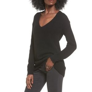NWT BP. V-Neck Sweater in Black